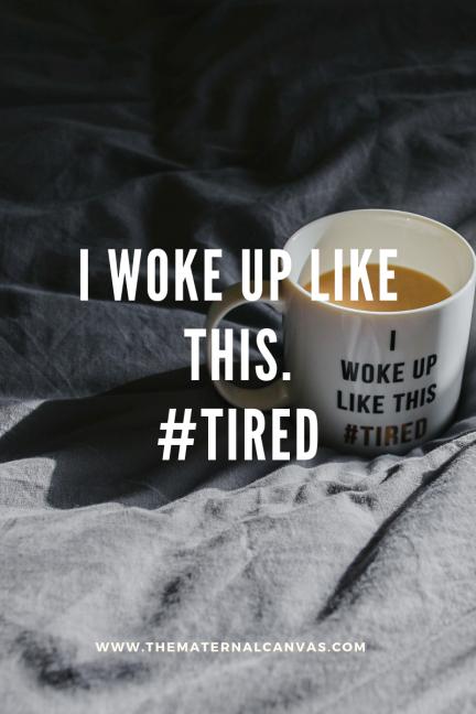 i woke up like this. #tired